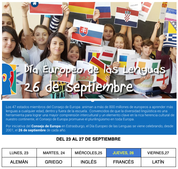 SEMANA EUROPEA LENGUAS 19